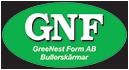 GreeNest Form AB – Bullerskärmar och bullerskydd Logo